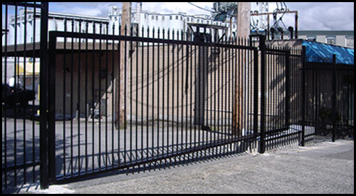 FAAC CANTILEVER GATE AUTOMATION