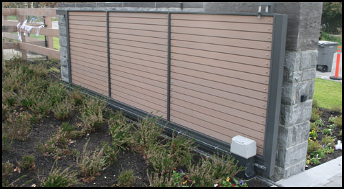 FAAC SLIDING GATE AUTOMATION