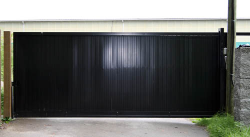 POWDER COATED TEXTURE BLACK