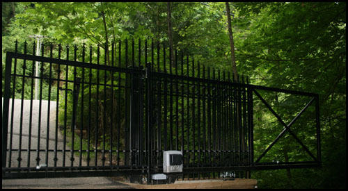 CAME SLIDING GATE AUTOMATION